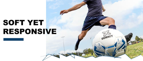 SUMMIT Advance X has been designed to be an all rounder football for training and match