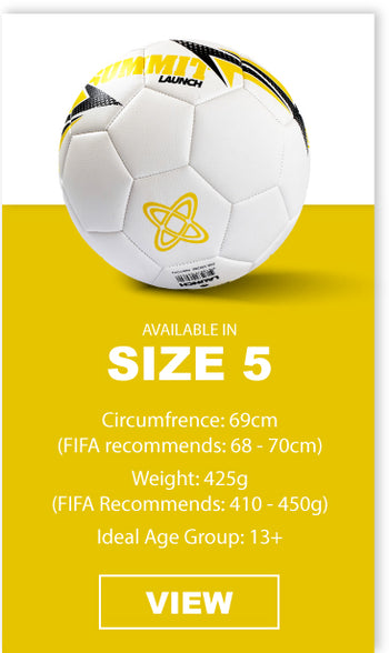 SUMMIT Football in size 5 is the ideal ball for 13+ players