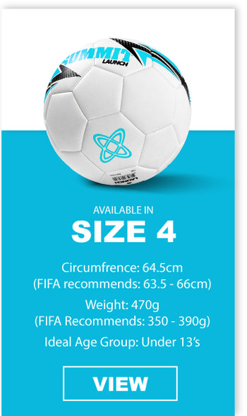 SUMMIT Football in size 4 is the ideal ball for under 13 players