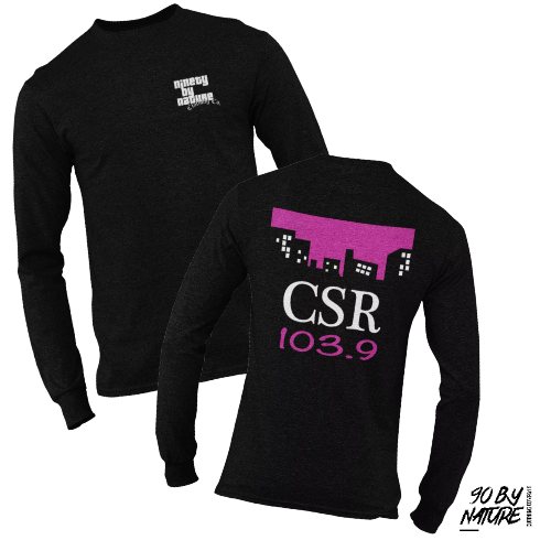 Grand Theft Auto CSR Radio | Unisex | Long Sleeve