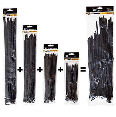 REUSABLE CABLE TIES - TRAVEL PACK