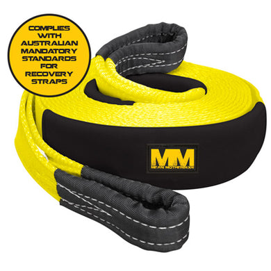 MEAN MOTHER SNATCH STRAP 75MM/9M 11,000KG