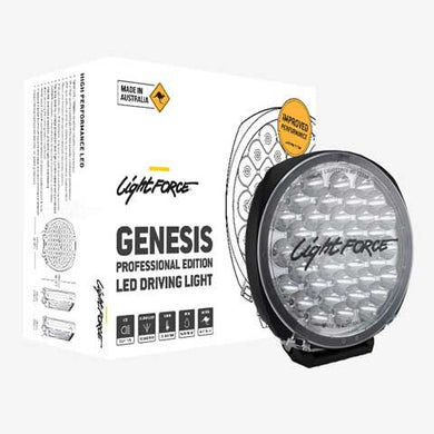 LIGHTFORCE GENESIS PROFESSIONAL EDITION LED DRIVING LIGHT (SINGLE)