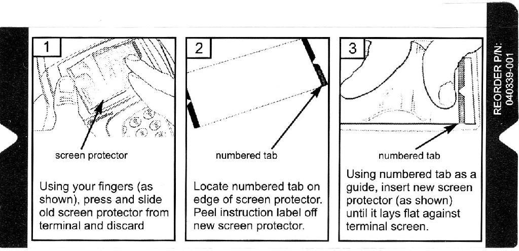 Screen Protector: Hypercom  L4250