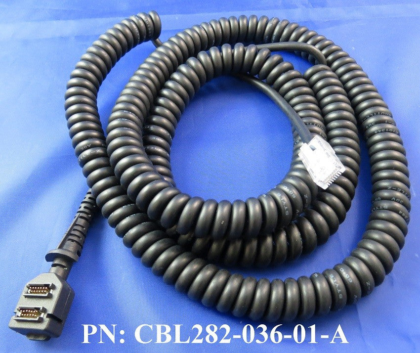 Cable: VFN Vx8xx, RS232 to RJ45, Coil, 1.3M (CBL282-036-01-A)