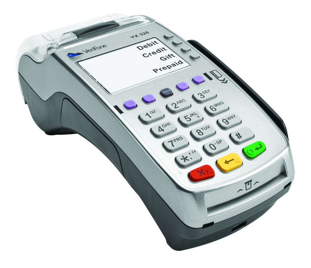 Verifone VX 520 GPRS w/Bat EMV 160Mb (M252-773-13-USA-2)