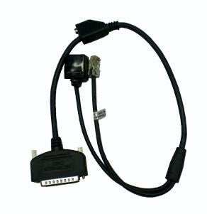 Magtek Imager (Models: N-MAG22410003, N-MAG22410004) RS232 Modem Cable to Nurit 2085/2090/3000/3020/8320 (CBL-22410300)