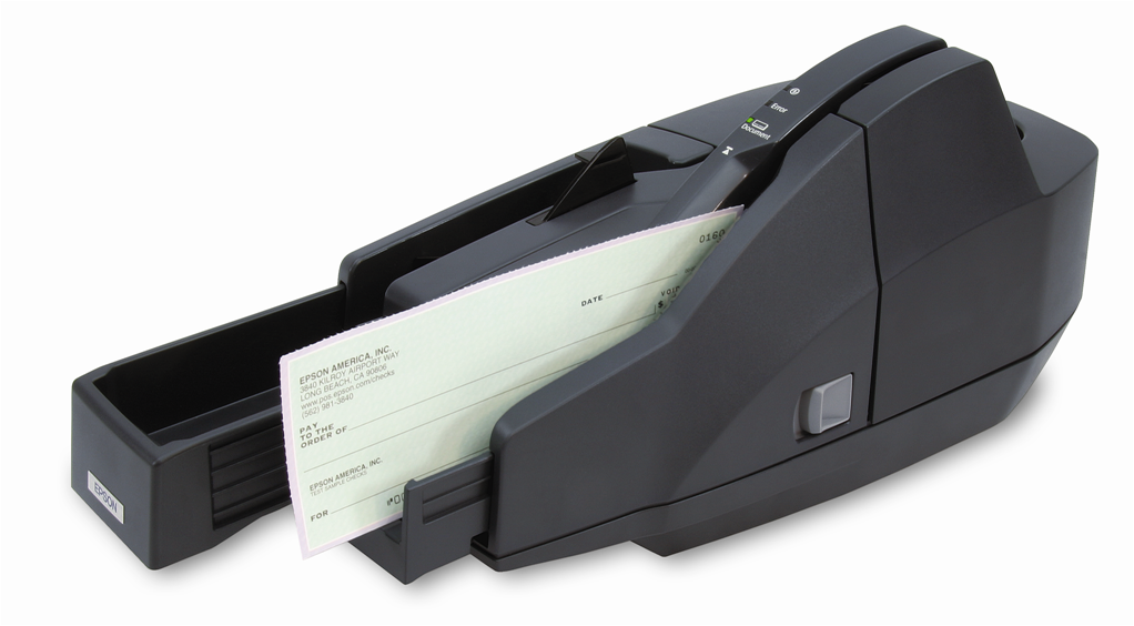 Epson CaptureOne Single Feed Check Scanner