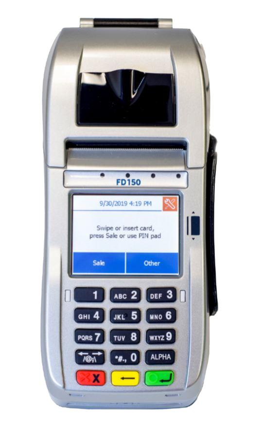 First Data FD150 Terminal Contactless & EMV (US 001867064) *Brand new w/ 1 year warranty*