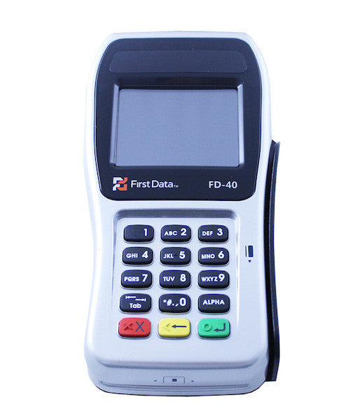 First Data FD 40 PIN Pad EMV / NFC (Clover) (N-FD40-CTLS)