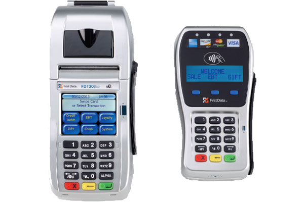 First Data FD130 EMV and FD-35 EMV/NFC PIN Pad Combo *Brand new*