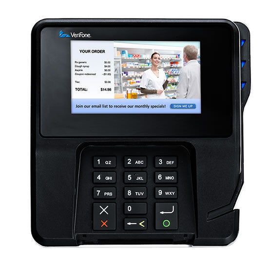 VeriFone MX915 - PCI 3.x, EMV TouchScreen, Signature Capture, NFC (M132-409-01-R)