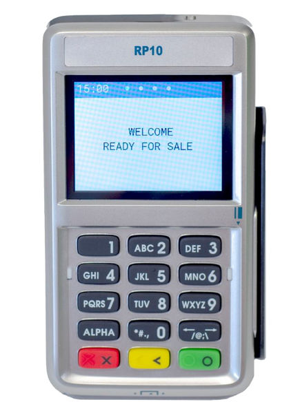 First Data RP10 PIN Pad with Contactless and Chip Card Payments