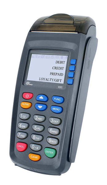 PAX S90 gprs 3G with EMV and Contactless (S90-MW0-063-01EA)