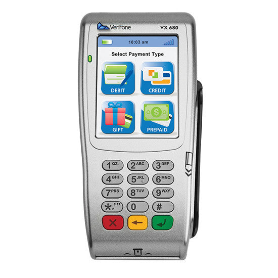 Verifone Vx 680 WIFI Contactless SCR 192Mb