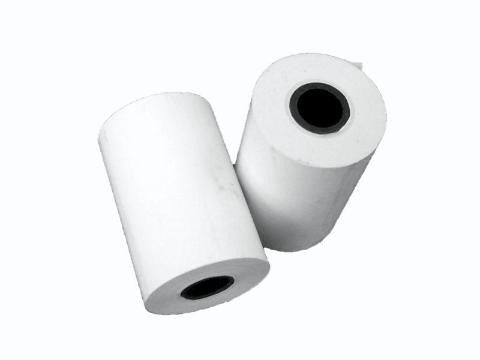Replacement Thermal Paper for Hypercom T7PF Processor, - Price per 50 Roll Case. Paper roll specs. Width. 2 1/4in Length. 80ft