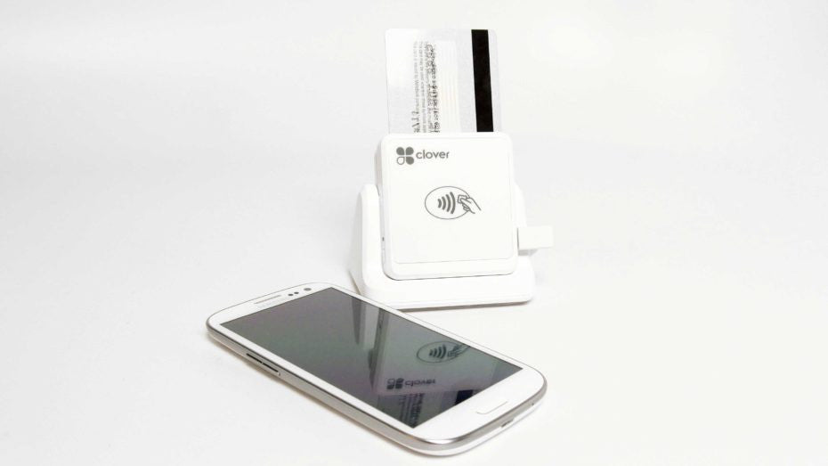 Clover Go Contactless Reader (N-RP457BT-FDC), Base also available (STCK-457BT-DOCK)