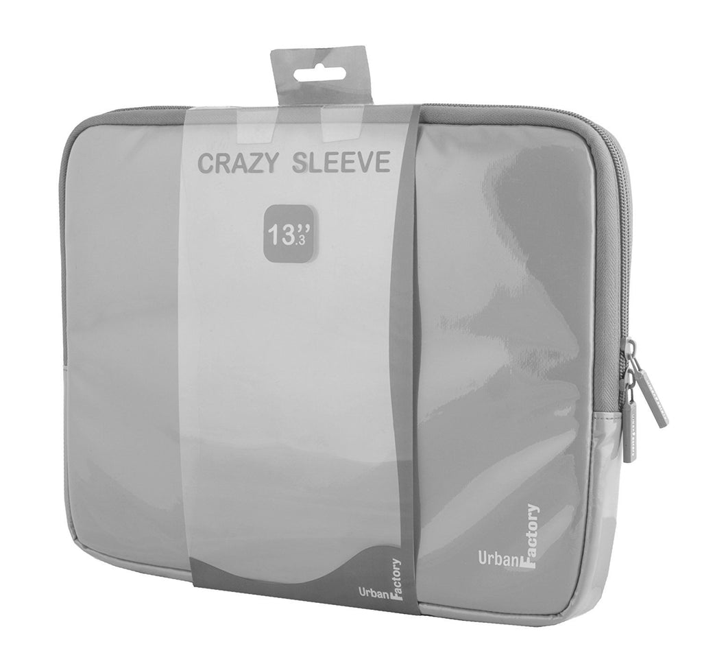 "Urban Factory MSB12UF Carrying Case (Sleeve) for 13"" Notebook - Gray"