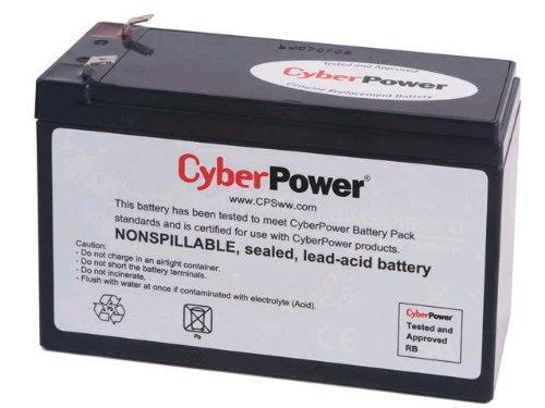 CyberPower RB1280 Replacement Battery Cartridge, Maintenance-Free, User Installable