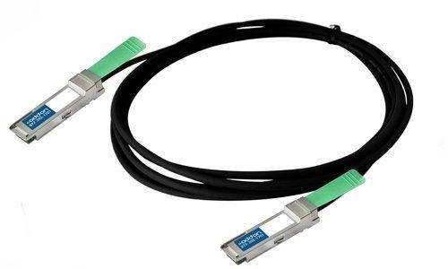 Add-On Computer Cisco Compatible 40GBase-CU QSFP+ to QSFP+ Direct Attach Cable (QSFP-H40G-CU5M-AO)