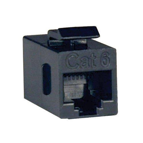 Tripp Lite Cat6 Straight Through Modular In-line Snap-in Coupler (RJ45 F/F)(N235-001)