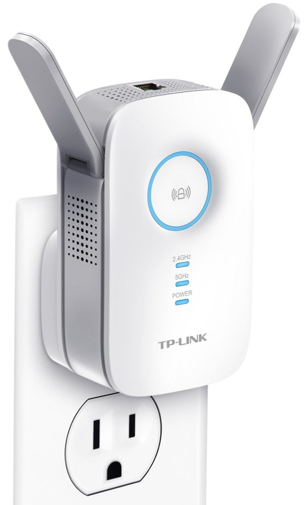 TP-Link AC1200 Wi-Fi Range Extender | Gigabit Ethernet Port |Compact | Intelligent Signal LED Ring (RE350)