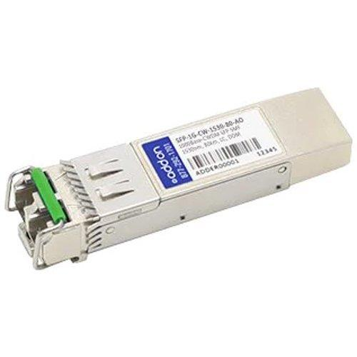 AddOn Arista Networks Compatible TAA Compliant 1000Base-CWDM SFP Transceiver (SMF, 1530nm, 80km, LC, DOM)
