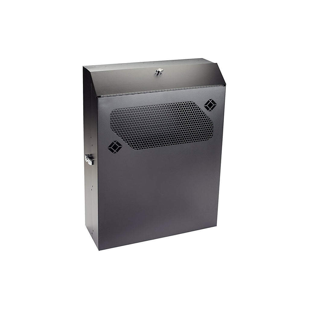 "Black Box Low-Profile Vertical Wallmount Cabinet - 4U, 24"" D Equipment"