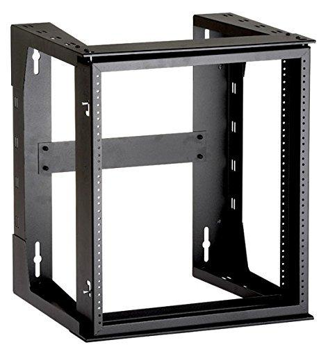 Black Box Rm070a-r3 Wallmount Rack Frame - 12u Wide - Black - 34.02 Kg X Maximum Weight Capacity