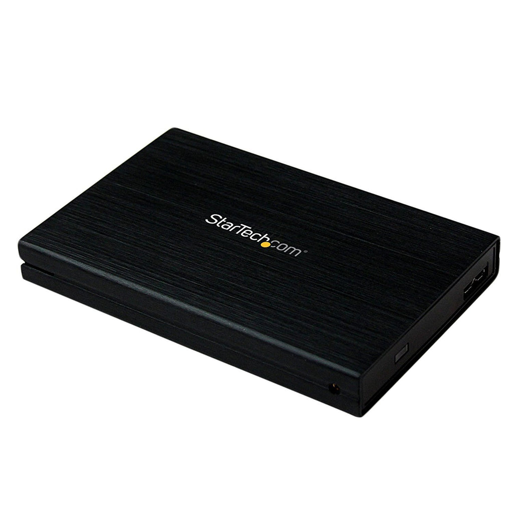 "StarTech.com 2.5"" Hard Drive Enclosure - Supports UASP - SATA 6Gbps - USB 3.0 External Hard Drive Enclosure - SSD/HDD Enclosure"