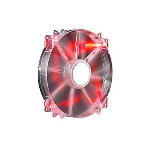 200MM MEGAFLOW RED LED