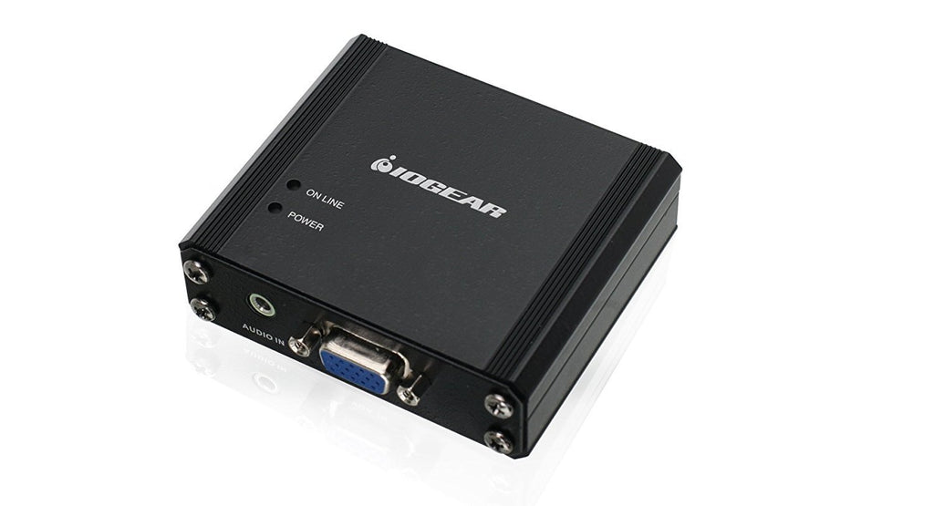 IOGEAR VGA with Audio to HDMI converter TAA Compliant, GVFHFW6