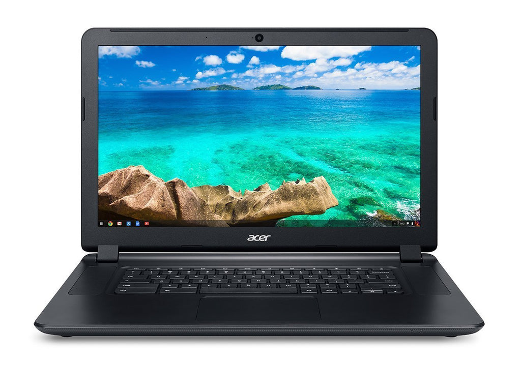 Acer Chromebook 15 C910-3916 NX.EF3AA.010 16-Inch Notebook (2 GHz Intel Core i3-5005U Dual-core, 4 GB, DDR3L SDRAM 32 GB SSD, Chrome OS) Black