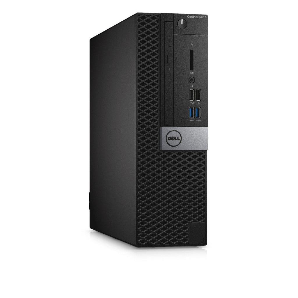 Dell H60K4 OptiPlex 5050 Small Form Factor Desktop, Intel Core i5-7500, 8GB RAM, 500GB HDD, Black