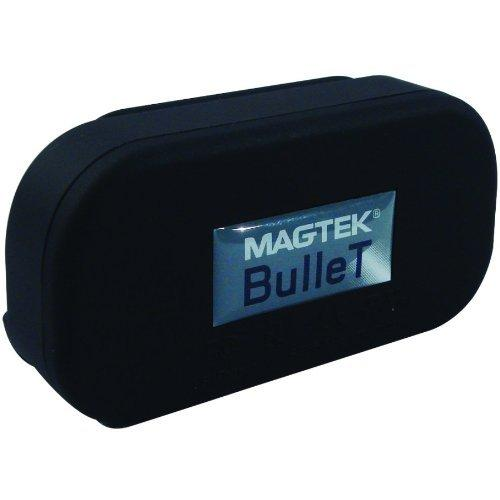 Magtek 21073082 Usa Bullet,Bt,W Usaepay Key,Black, 3 Track,-See Notes-