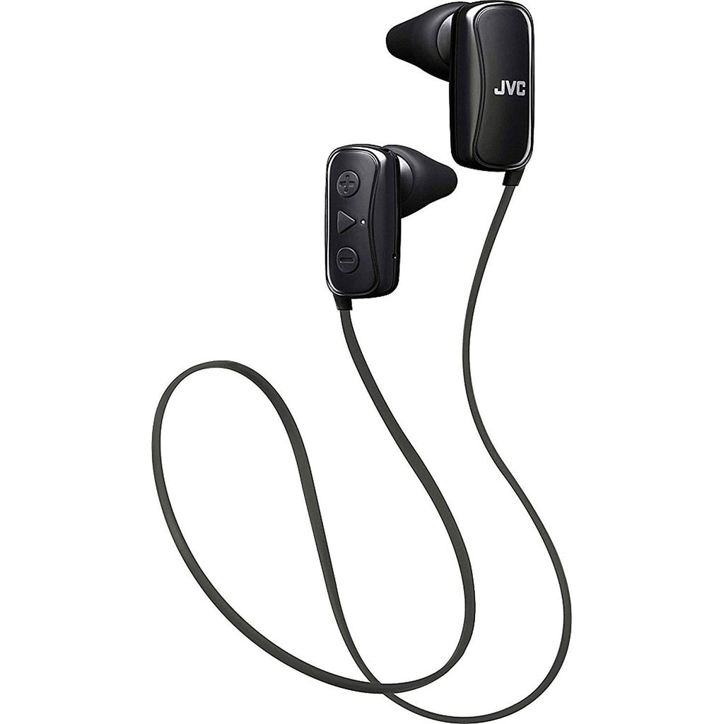 JVC HAF250BTB In-Ear Headphone, Bluetooth, Gumy - Black