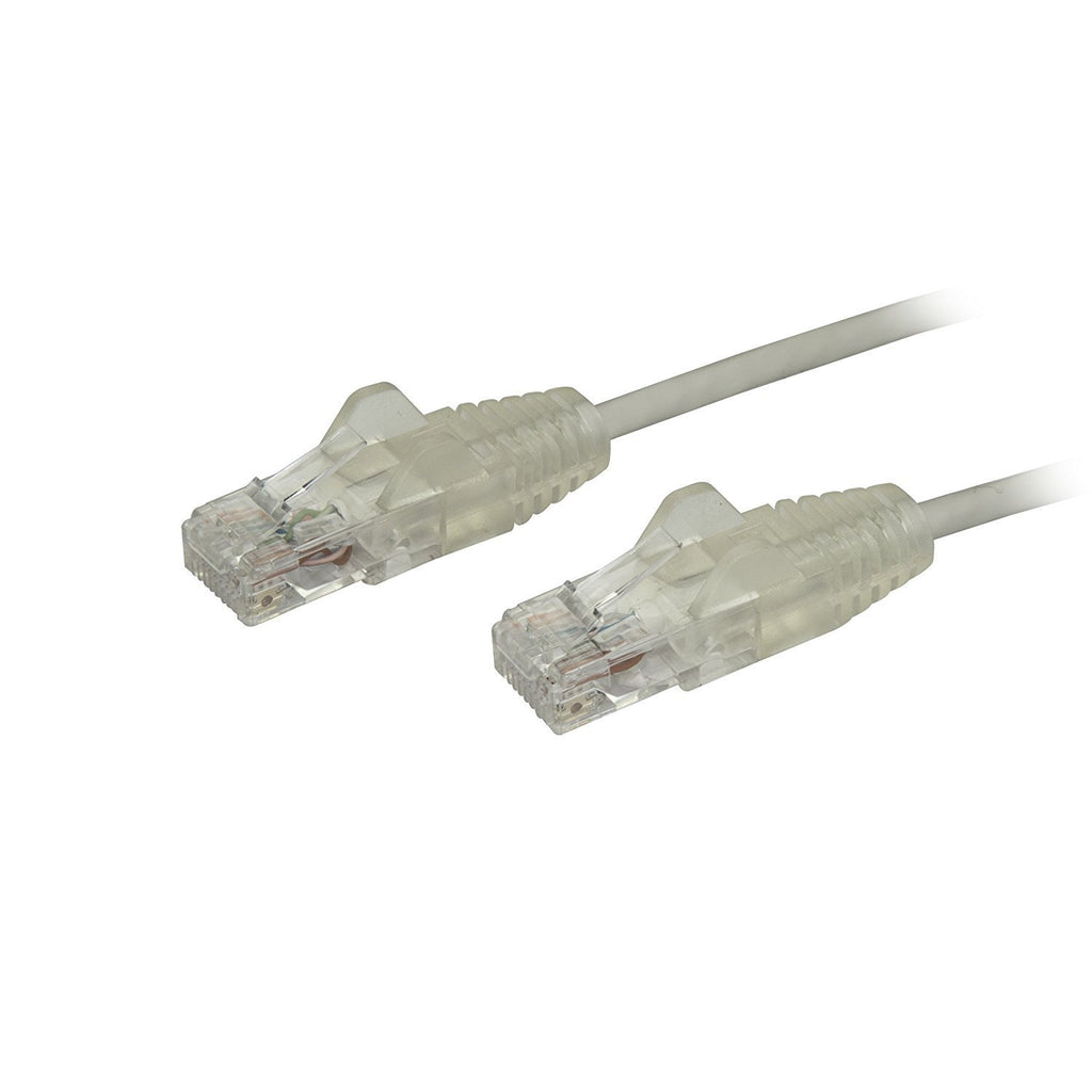 StarTech.com N6PAT1GRS Cat6 Ethernet Cable, 1', Gray, Slim, Snag less RJ45 Cable, Network Cable, Ethernet Cord