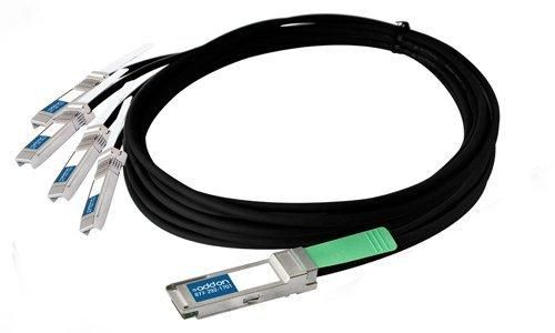 1m 40GBase-CR4 to 4X10G Base-CU SFP+ DAC Cable F/Cisco