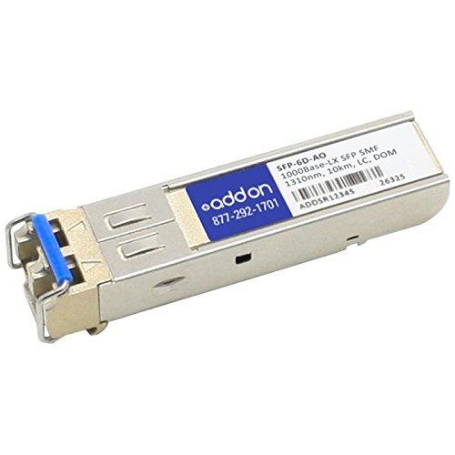 Add-onputer Peripherals, L SFP-6D-AO Rad SFP Transceiver Provides 1000Base-LX