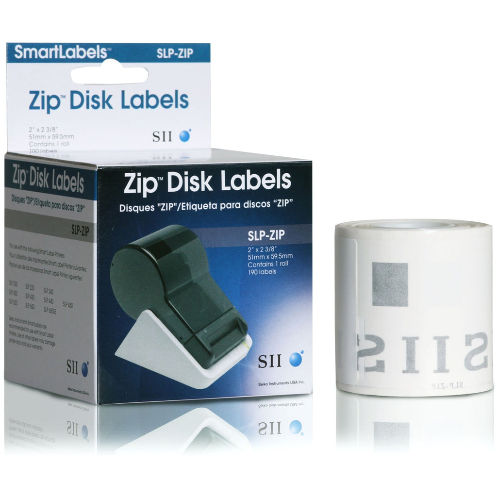 220-LABELS 2 X 2-3/8 Slp-zip Zip Disk Labels