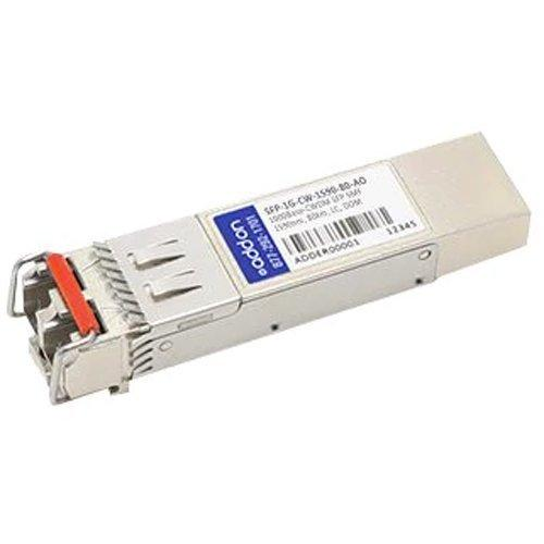 AddOn Arista Networks Compatible TAA Compliant 1000Base-CWDM SFP Transceiver (SMF, 1590nm, 80km, LC, DOM)