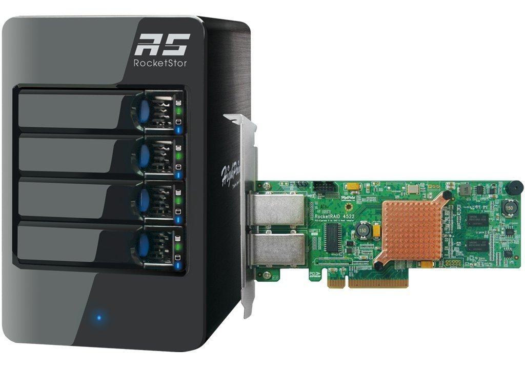 Hybrid Storage Solution: 1x extra Mini-SAS Port supports up to 4 more SAS/SATA HDDs/SSD