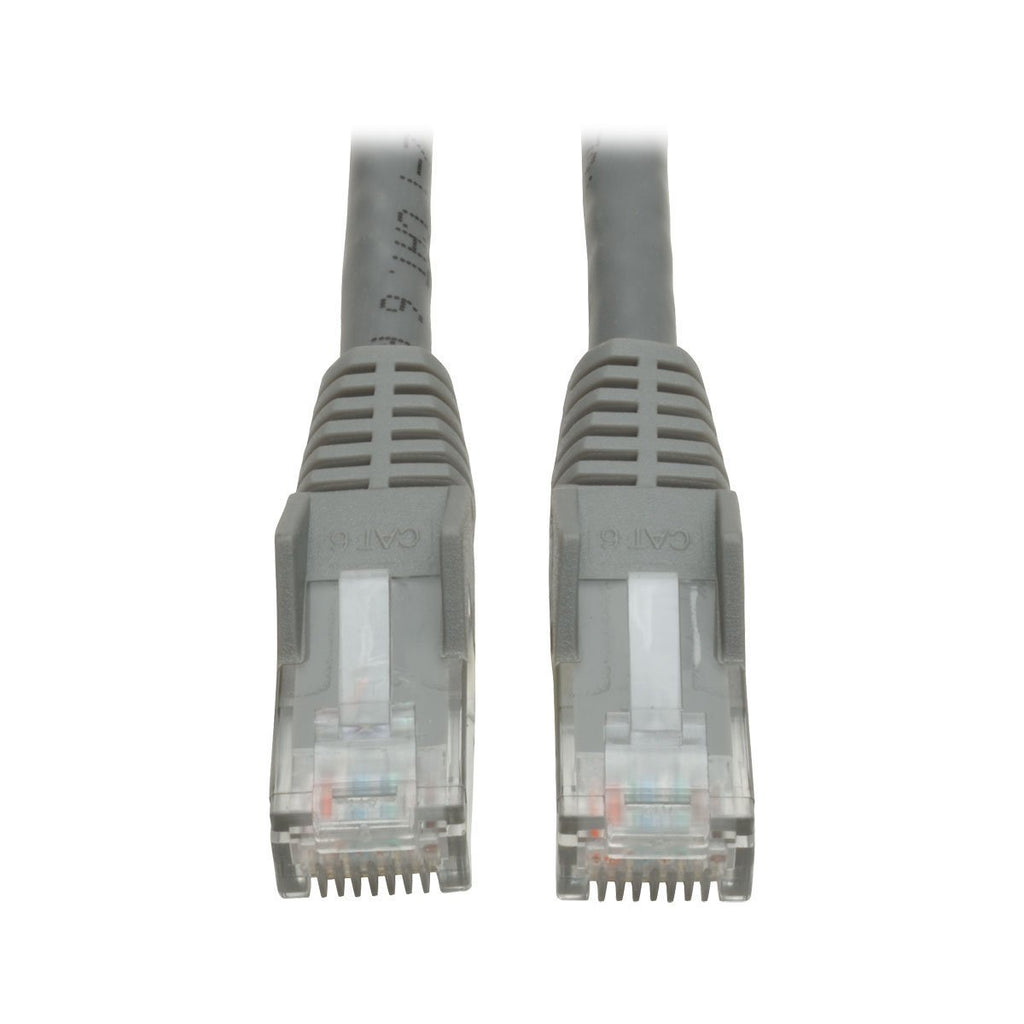 Tripp Lite N210-007-GY 7ft Cat6 Gigabit Gray Cross-over Molded Patch Cable RJ45 M/M, 7'