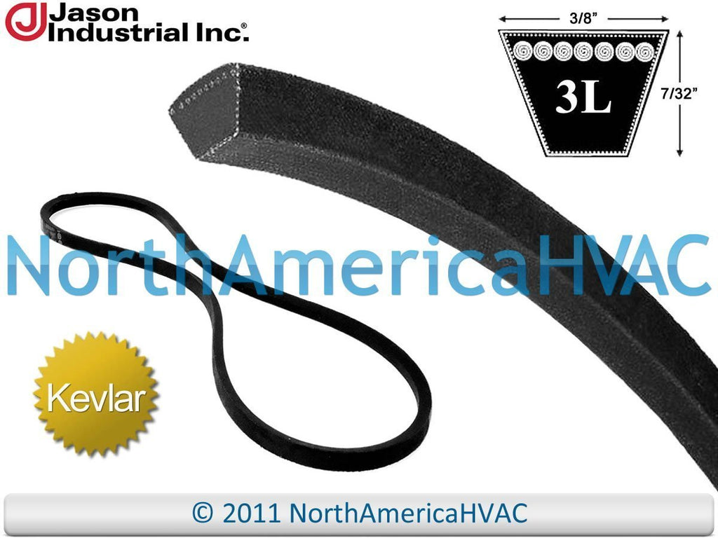 "RM-327 - Wheel Horse Super Heavy Duty Kevlar Aramid All Purpose V-Belt 3L370 3/8"" x 37"""