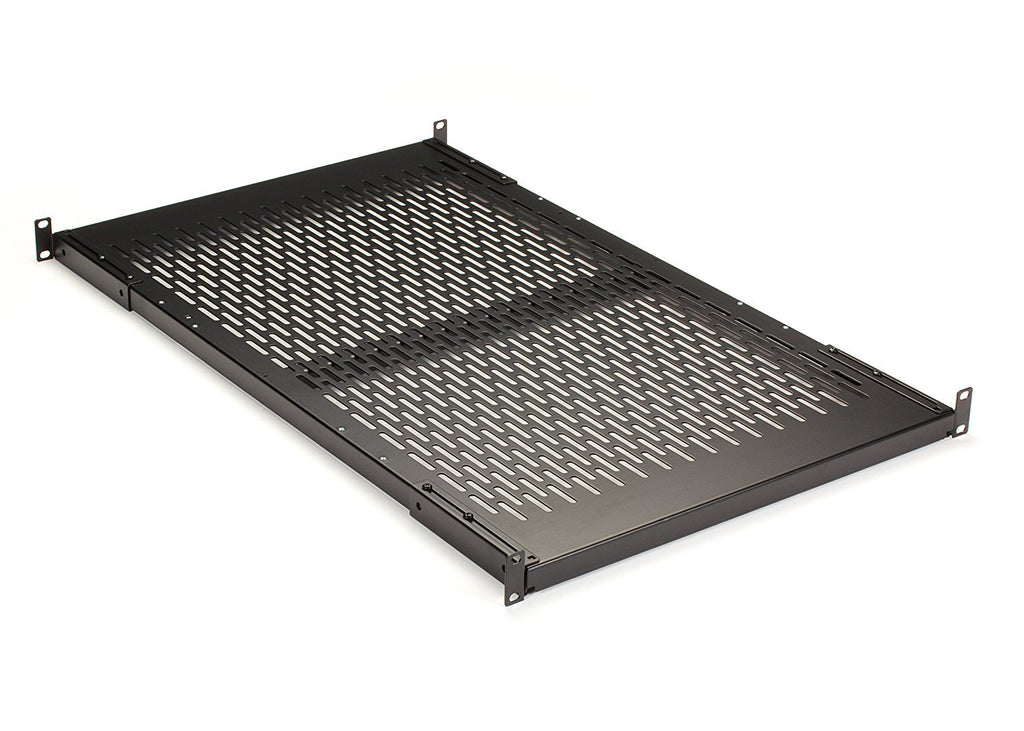 "Black Box Fixed Vented Server Shelf, 30""D, for 19"" Rails"