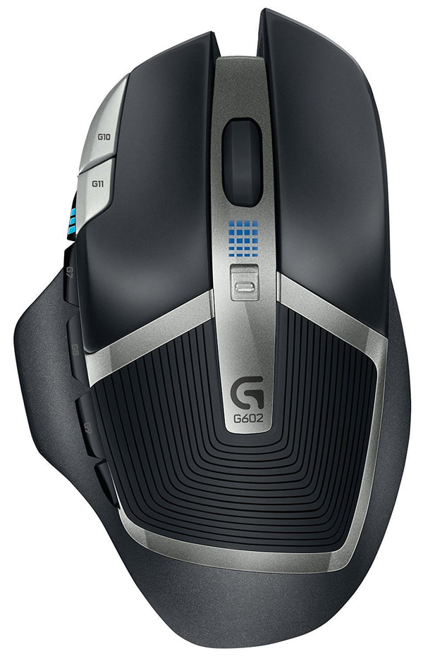 290e5c118f5 Logitech G602 Lag-Free Wireless Gaming Mouse – 11 Programmable Buttons, Up  to 2500
