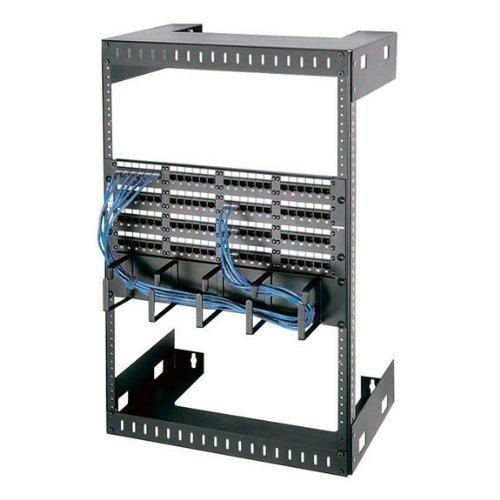 Black Box 15U Wallmount Rack M5 Square Holes 150lb. Capacity