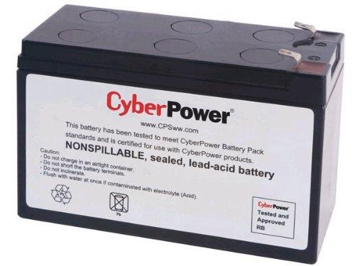 CyberPower RB1270A Replacement Battery Cartridge, Maintenance-Free, User Installable
