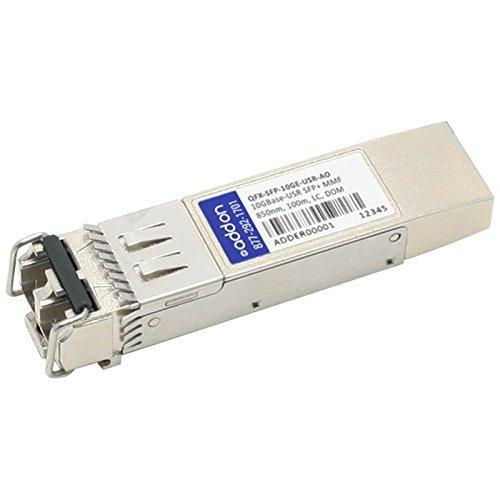 Addon-Networking SFP+ Transceiver Module, LC Multi-Mode (QFX-SFP-10GE-USR-AO)