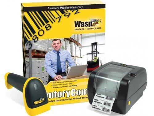 Wasp Inventory Control Standard Software with WWS550i Handheld Barcode  Scanner and WPL305 Barcode Printer